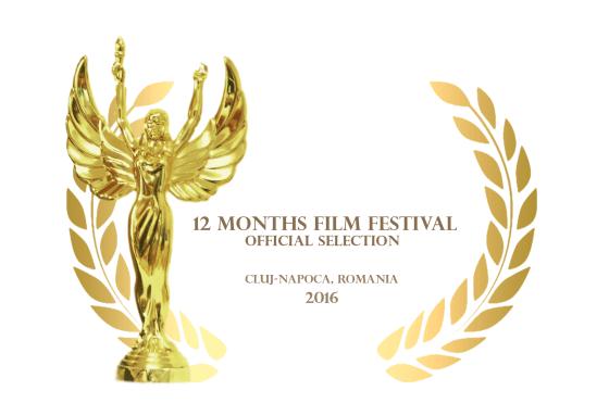 """2. PLATZ in der Kategorie BEST FEATURE DOCUMENTARY für """"Blockbuster - Das Leben ist ein Film"""" in der März-Ausgabe des 12 Months Film Festival (Rumänien)"""