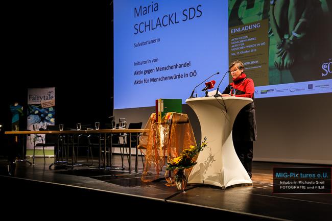 """6D – General Picture Release: """"Aktiv gegen Menschenhandel – Aktiv für Menschen-Würde in OÖ"""" – 3. Veranstaltung, 17.10.2016 – Presse- & Veranstaltungsfotografie"""