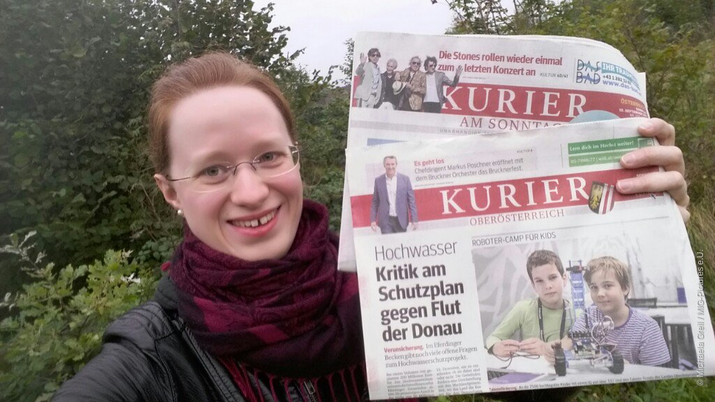 Journalismus & Fotografie: #KURIER OÖ Beilage - erste Beiträge erschienen #Coverstory #Teamwork
