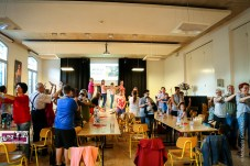 """Fotografie für das KidsZentrum TURBINe: Benefizveranstaltung """"Kumm TURBINe"""", Pfarrzentrum Marcel Callo Linz-Auwiesen/OÖ, 15.6.2018, Nr. 12; Foto: © 2018 Michaela Greil/MIG-Pictures e.U."""