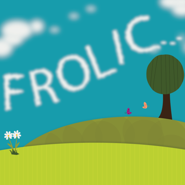 Frolic Hand Lettering Challenge Day 2