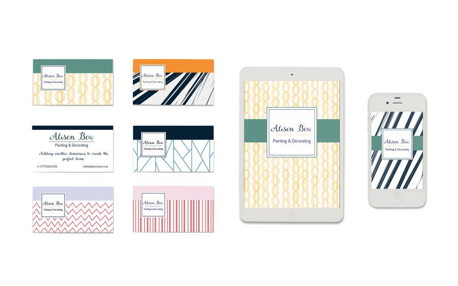 Business Cards   Michaela Hoffman Designer