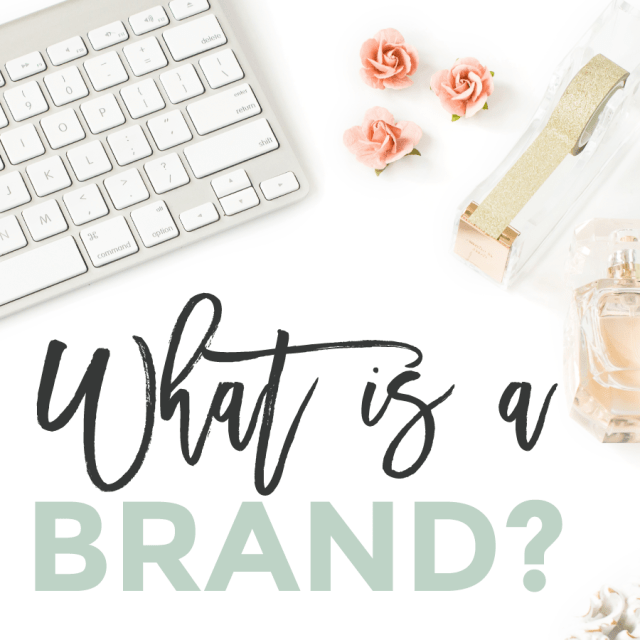 What Is A Brand?   Michaela Hoffman