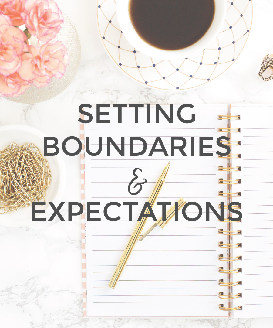 Set Boundaries & Expectations in your Small Business   michaelahoffman.com