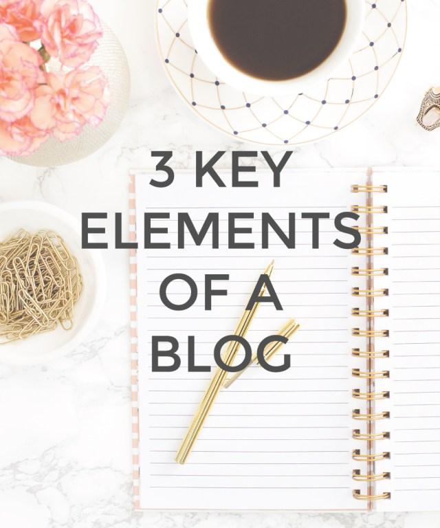 3 Key Elements of a Blog | michaelahoffman.com