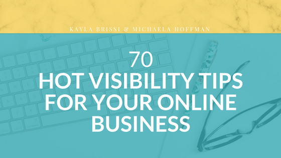 Hot Visibility Tips from Industry Experts to increase your visibility online