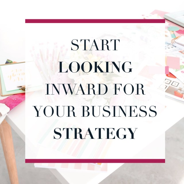 Where do you look for your business strategy inspiration? As a small business owner or online entrepreneur it can be really hard to keep your blinders on and find inspiration that works for your business. Where do you go for small business strategy ideas?