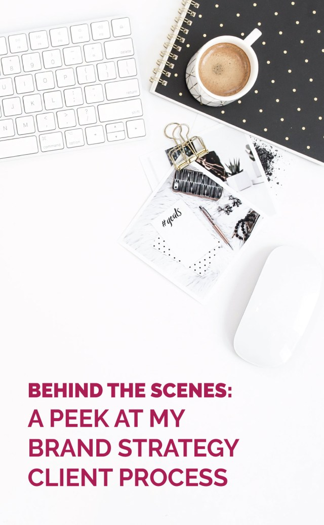 Top down office supplies - Behind the Scenes Peek at my brand strategy client process