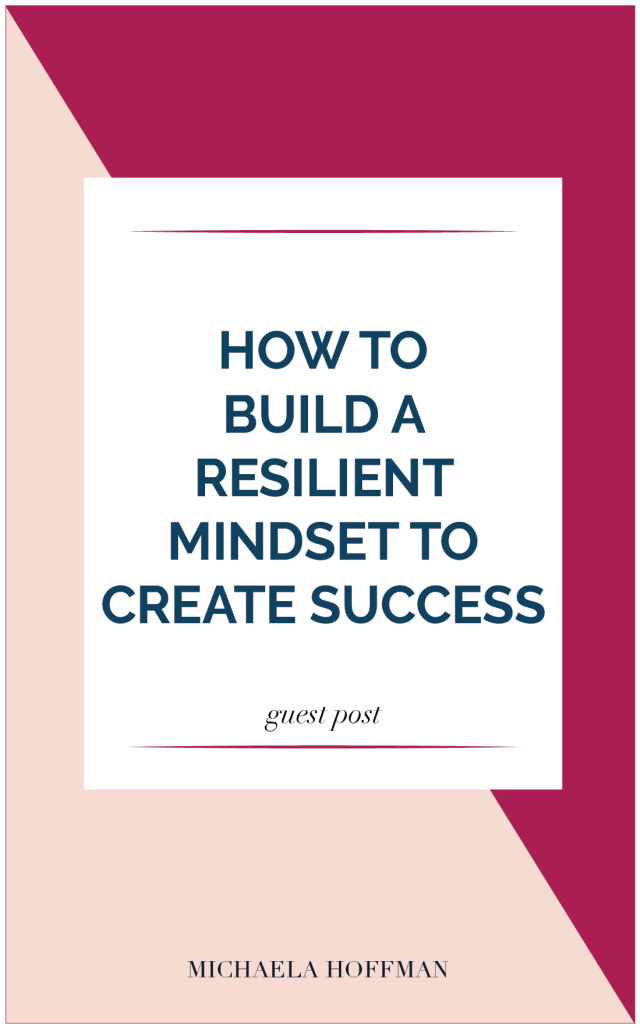 Resilience is one of the most difficult thing to build as a business owner. We want to succeed, and sometimes, we hang on so tight to the results, that we become frustrated, stressed out and overwhelmed.