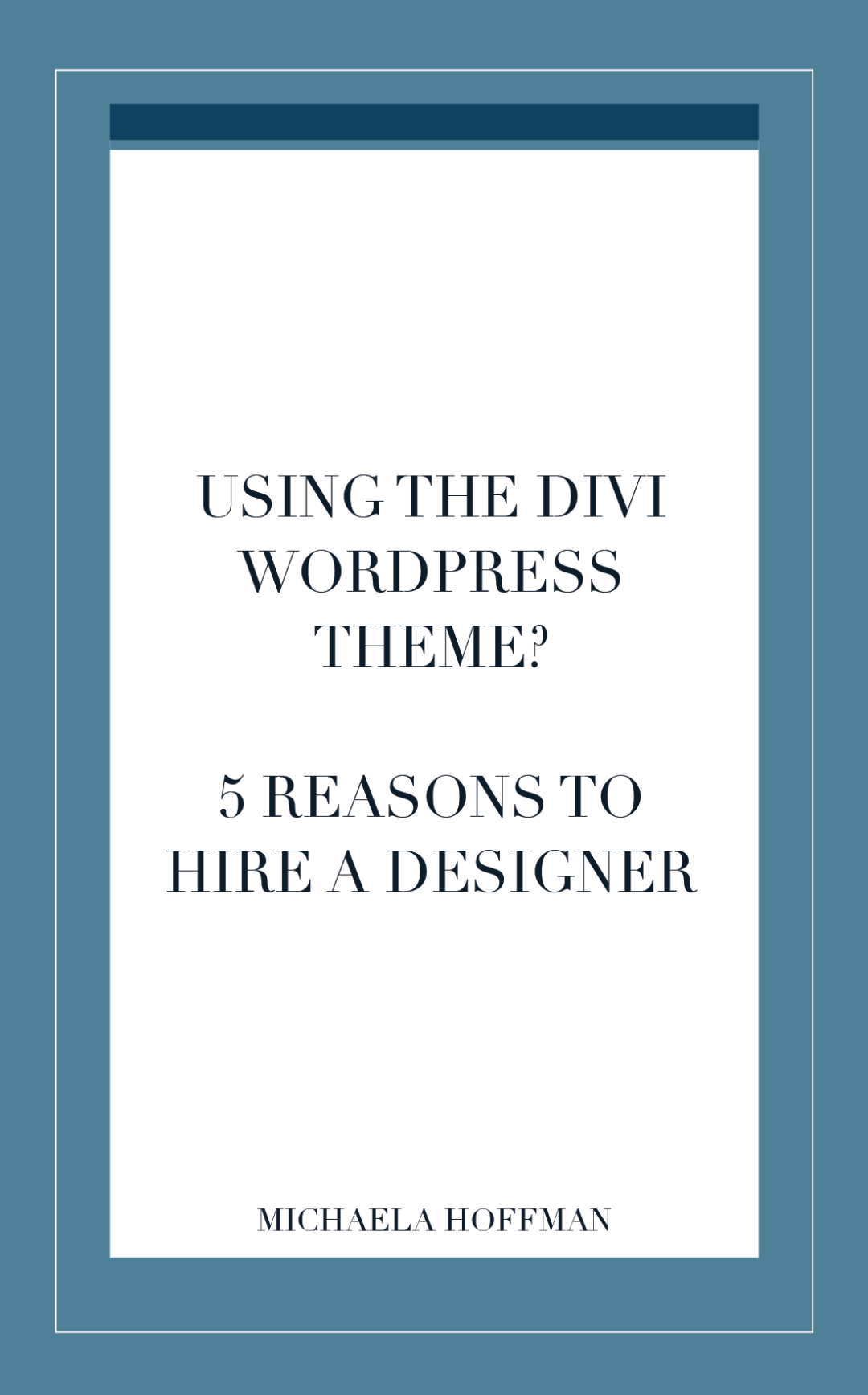 Are you a small business owner who is ready to tackle your website to grow your business? A web designer can help guide you in the best direction to connect with your audience, increase your visibility, and keep your business looking polished and professional online.