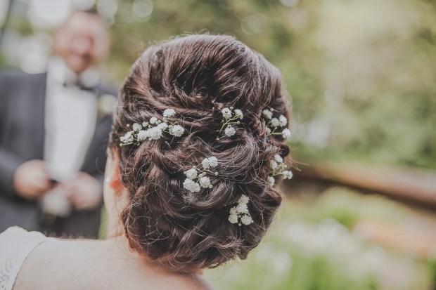 Brautfrisur Hochzeitsfotos Reutlingen