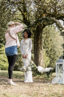 making of styled shoot michaela klose