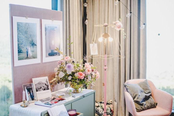 Michaela Klose Messestand 2018 Hochzeitsmesse