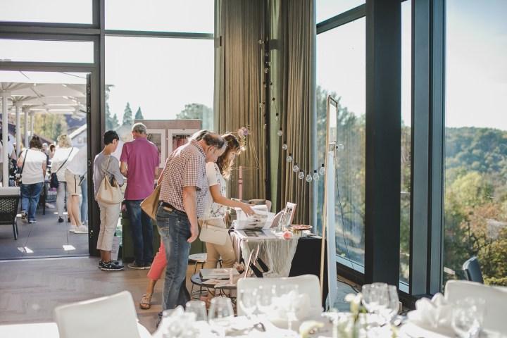 Panoramahotel Waldenburg Hochzeitsmesse Aussteller Michaela Klose Fotograf Besucher