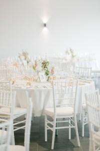 Tischdekoration Mietstühle Weiße Hochzeitsdeko