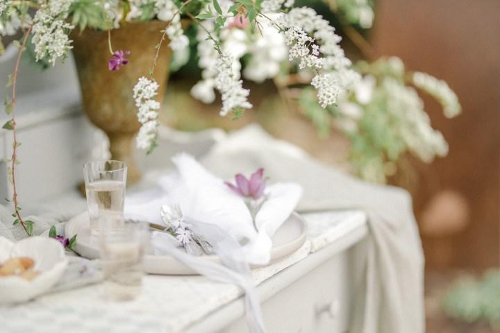 Nachhaltiges Garden Editorial // Hochzeit im Garten
