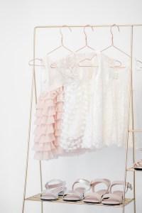 Brautkleid Blumenmädchen Kinderkollektion Hochzeit