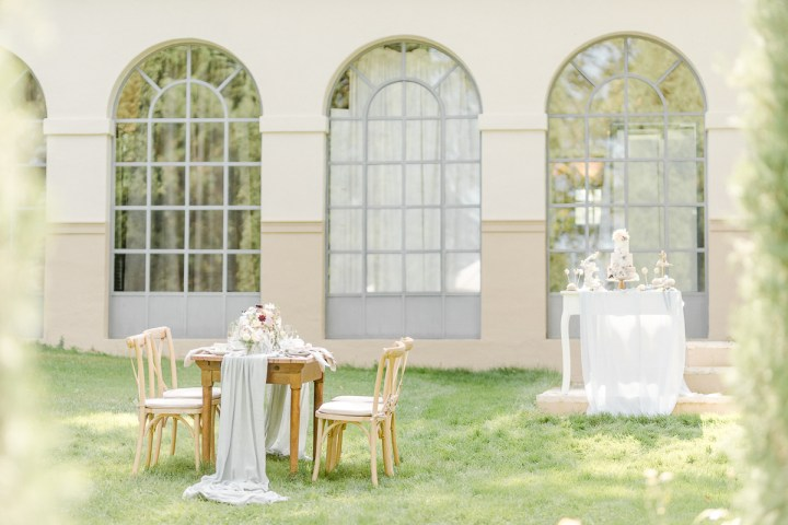 Hochzeitstisch Morrhof