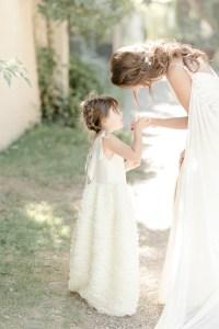 Mama und Tochter zur Hochzeit