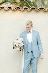 Feine Hochzeit in der Pfalz Bräutigam