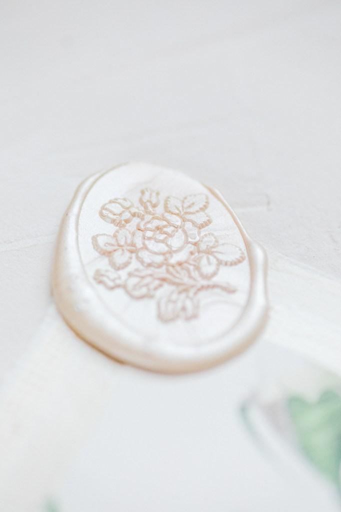 Fine Art Papeterie Hochzeit Fine Art Wedding Bonjour Paper  Wachssiegel