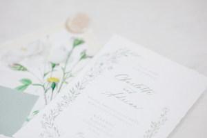 Fine Art Papeterie Hochzeit Fine Art Wedding Bonjour Paper Kalligrafie