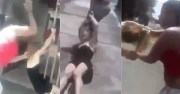 Mistress Dragged By Her Hair And Thrown Off A Bridge