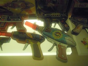 Toy gun at the Mint Museum of toys