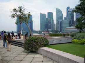 A few of the building for the financial area