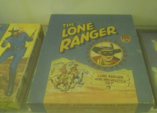Lone Ranger Kit at the Mint Museum of toys.