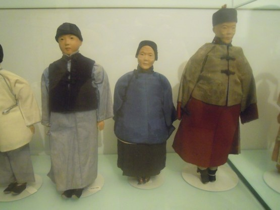 These dolls were made by the ladies at the Door of Hope. Shown at the Mint Musuem of Toys