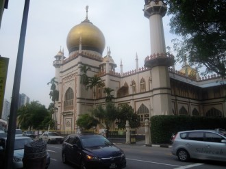 a mosque in Little IndiaCh