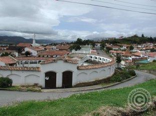 A view of Guatavita