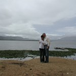 Michael and Chela at Guatavita