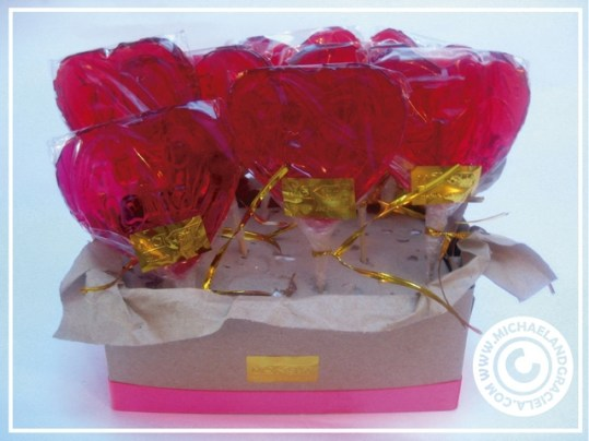 Tastefully decorated candies