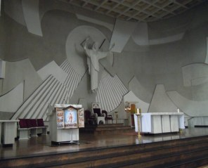 The alter of the church