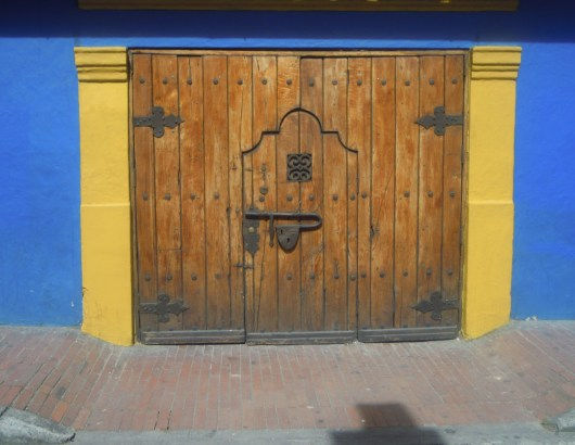 Check out the lock on this door in Candelaria.