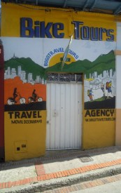 One of the places in Candelaria offers bike tours to tourists