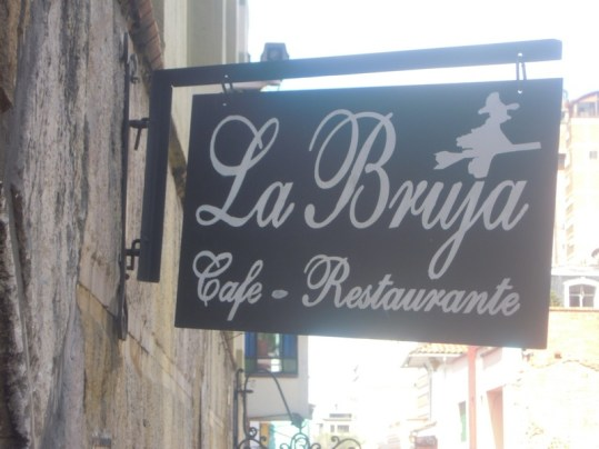 """Cafes and small restaurants abound in Candelaria. La Bruja means """"The witch."""""""