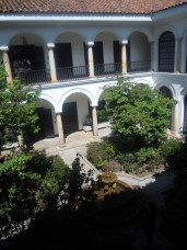 Central courtyard in house in Candelaria
