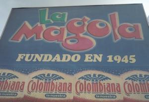 La Magola outside sign 300 x 205