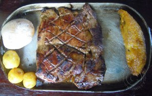 Churrrasco plate @ Cocina de Colombia