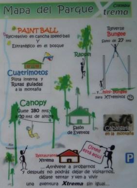Map of the activities @ Cocina de Colombia