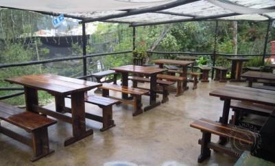 Patio dining @ Cocina de Colombia