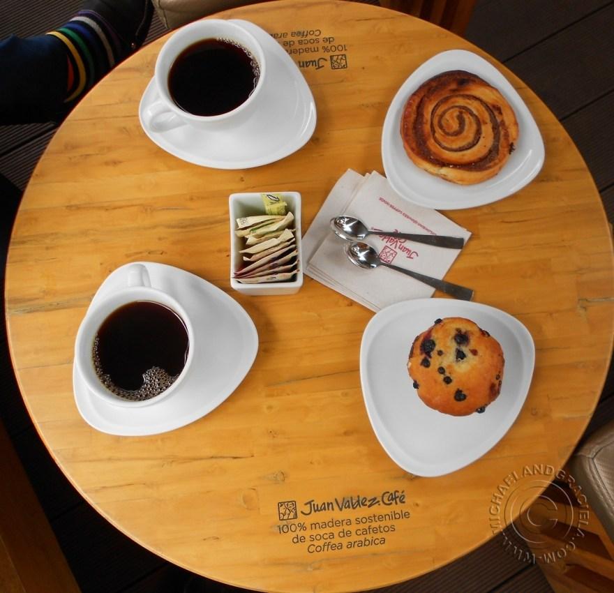 Juan Valdez Origenes coffee on table