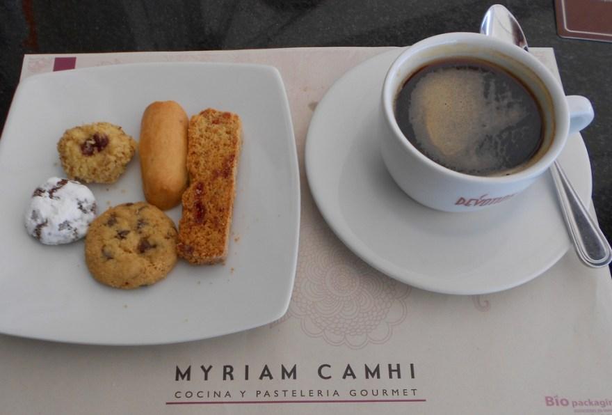 MC cookies and coffee