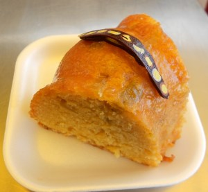 Dulcinea orange cake with chocolate
