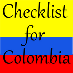 checklist for Colombia 150SQ
