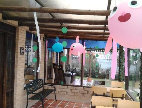 fish baloon party