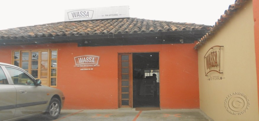 WASSA front of store
